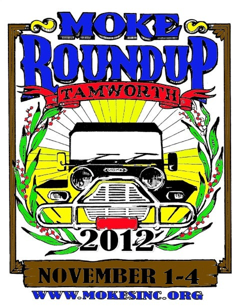 round up colour poster