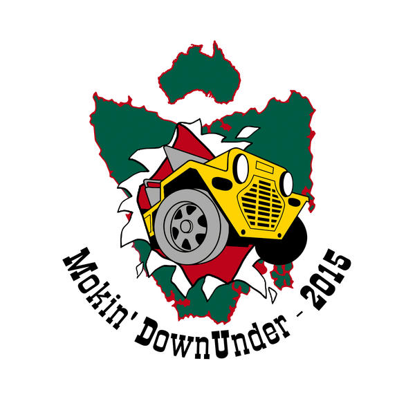 Mokin Downunder Logo at 600px wide